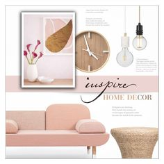"""""""Home Decor"""" by red-diva ❤ liked on Polyvore featuring interior, interiors, interior design, home, home decor, interior decorating, West Elm, Flamant, Home and decor"""