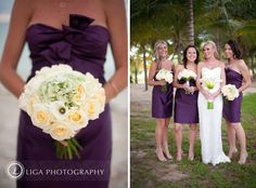 love the bouquets. Liga Photography