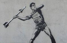 Banksy x The Olympics