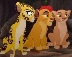 Fuli, Kion and Kiara