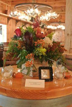 Reception pieces at Cody Creek