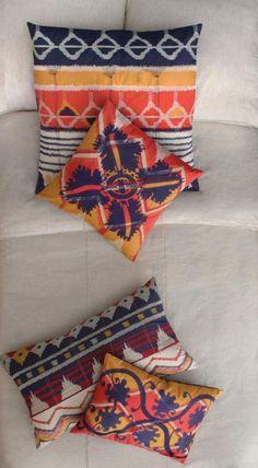 Koko - Java 20x20 Ikat Pillows