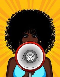 Pop Art Girl, Black Girl Art, Black Art, Pop Art Women, Black Women Art, Desenho Pop Art, Vector Pop, Bling Wallpaper, African Art Paintings