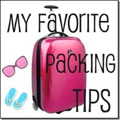 useful tips when packing a carry-on!