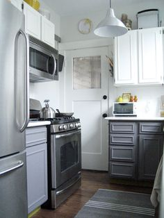 Best 1000 Images About Grey Lower Cabinets On Pinterest 640 x 480