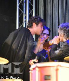"""Morgan, Francesco Sarcina e Riccardo Scamarcio - Tutte le foto alla nostra pagina facebook """"MetaMorganTv"""""""