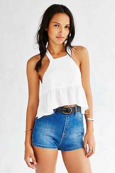 Stone Cold Fox Liam Cropped Top - Urban Outfitters