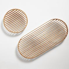 ronan & erwan bouroullec for cappellini | wood fruit bowls. Can't tell from the photo how this happens (routed from the solid or joined from thin strips). Robust enough?