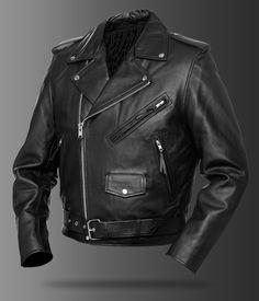 For Danny Zuko  Size 38   Leather Jacket - Street & Steel
