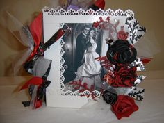 Twilight Saga inspired paper bag scrapbook I made