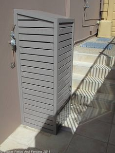 Aluminium Pool Pump And Gas Bottle Covers - Sorrento - Gold Coast Image