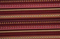 Tecido para Patchwork LA Listrado Marrom (0,50m x 1,50m) - Armazém da Arte