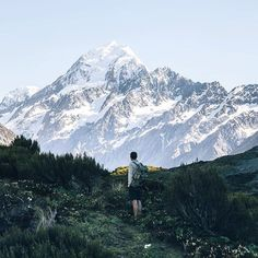 Hooker Valley Track, Mount Cook National Park, New Zealand.
