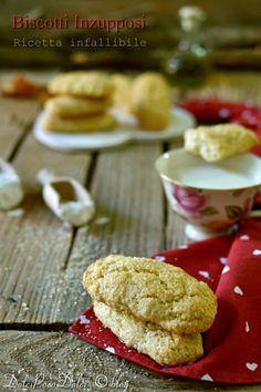 Biscotti per colazione inzupposi ricetta - Senza uova burro lattosio | Dolci poco Dolci