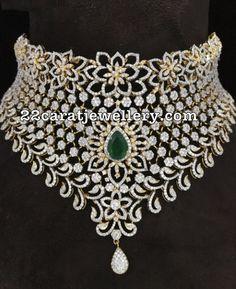 21 Lakhs Diamond Set