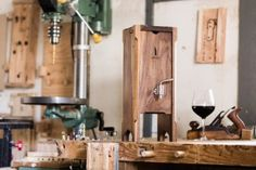 """Details.com says """"Wine preservation systems, which keep your favorite bottle of vino nice and tasty for a longer period of time so you can enjoy it well after that first night you pop it open, range from the rather bizarre to the really high end ...."""""""
