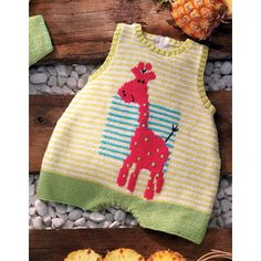 The book includes 45 knitting and crochet patterns for babies and toddlers - that's sure to keep you busy all year long!