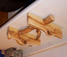 aspen log shelf  Rustic decor Modern rustic decor. by AspenSpirit