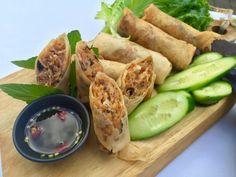 Vietnamese Egg Rolls / Chả Giò / La Vie Partagee