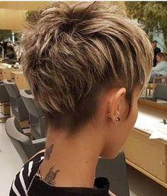Cute Short Haircuts, Short Hairstyles For Women, Layered Haircuts, Thin Hairstyles, Hairstyles Videos, Hairstyle Short, Hairstyles 2016, Natural Hairstyles, Layered Pixie Cut