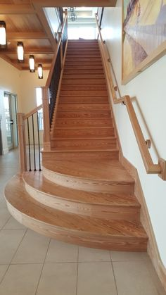 Sinker Pine Stairs – Aren't They Gorgeous?, Wood Flooring, Goodwin Company, Heart Pine