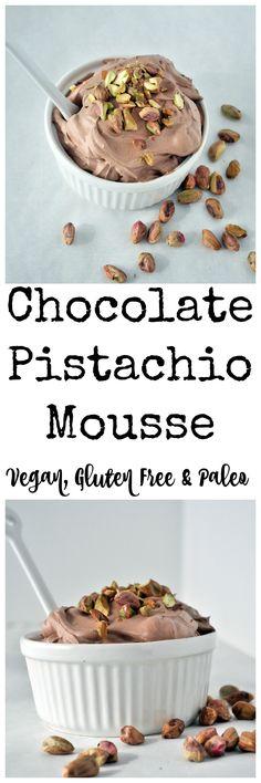 Chocolate Pistachio Mousse P