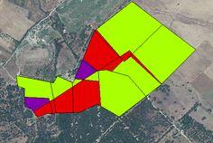 Generación de mapas de conflicto en ArcGIS.