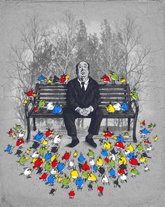 Hitchcock + Angry Birds