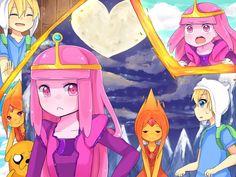 anime adventure time princesses - Google Search