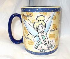 Huge Tinkerbell Coffee Mug magical Mornings