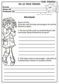 Educando com amor: Projeto Leitura - Teatro na escola - Sitio do Picapau Amarelo