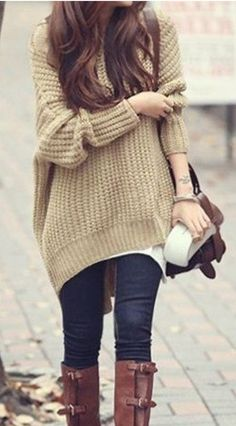 perfect for fall or winter days