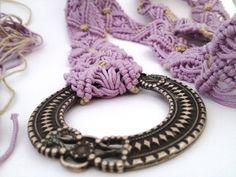 VIDEO CINTURE MACRAME'  Macrame belt hand made be me!! Pink cotton, belt available here http://etsy.me/1r96RJ4 #etsymntt #belt #macrame