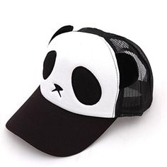 Cartoon Panda Cap Cotton Net Cap Baseball Cap For Womens Girls Mens Boys (Black) CZY http://www.amazon.com/dp/B00N5EKCGU/ref=cm_sw_r_pi_dp_h351wb19DJYPH