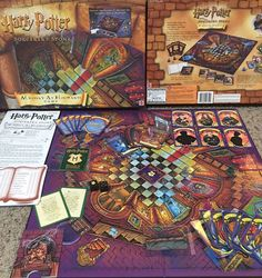 HARRY POTTER and the Sorcerers Stone Mystery at Hogwarts Board Game COMPLETE R11  | eBay
