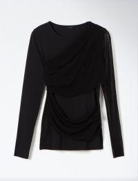 Joseph Tulle Jersey top Joseph, Tulle, Blouse, Long Sleeve, Sleeves, Tops, Women, Fashion, Moda