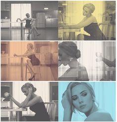 Scarlett Johansson for Dolce and Gabbana. #GIFs.