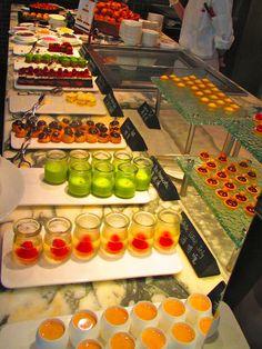 Dessert at Hotel ICON. Hong Kong