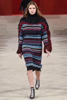 See all the Collection photos from Lala Berlin Autumn/Winter 2017 Ready-To-Wear now on British Vogue Knit Fashion, Fashion 2017, Fashion Show, Fashion Trends, Fashion Online, Colorful Fashion, Trendy Fashion, Winter Fashion, Ethical Fashion