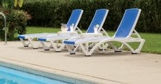 Need a #vacation? A #resort style lounge can help you bring the #relaxation to your own #yard.