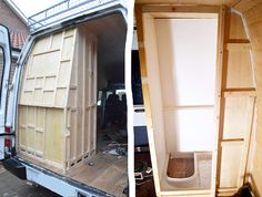 DIY shower build for camper van conversion.                                                                                                                                                                                 More