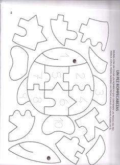 descubro los numeros.pdf Baby Quiet Book, Felt Quiet Books, Felt Patterns, Applique Patterns, Infant Activities, Preschool Activities, Teaching Kids, Kids Learning, Quiet Book Templates