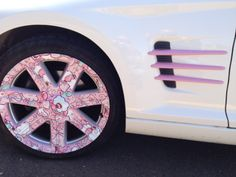 Wheel wrap, Pokemon design.