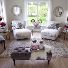 Stunning Romantic Living Room Decor Ideas 03