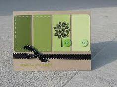 paint swatch card..very cute idea
