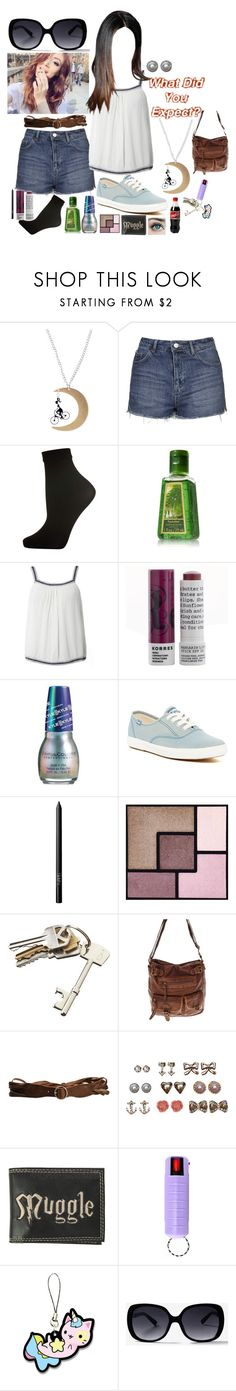 """""""Sabrina 70"""" by stockmon ❤ liked on Polyvore featuring Topshop, Dorothy Perkins, Korres, Keds, NARS Cosmetics, Yves Saint Laurent, CB2, claire's, Jeckerson and Wet Seal"""