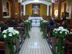 Decoración para boda en Los santod niños inocentes.