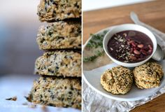 Rosemary & Thyme Scones with Mixed Seeds @ Entre jardins