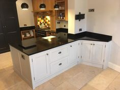 Absolute Black Granite kitchen worktops