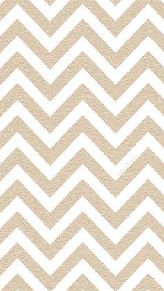 Textured Light Brown Chevron iPhone Wallpaper
